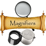 Coin Magnifiers and Loupes