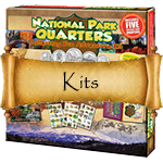 National Park Quarters Collecting Kits