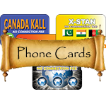 Phone Card Collecting Supplies