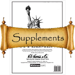 HE Harris Stamp Album Supplements