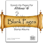 HE Harris Stamp Album Blank Pages