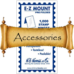 HE Harris Stamp Collecting Accessories