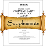 Scott Stamp Album Supplements