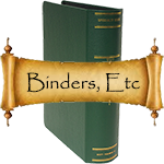 Scott Binders and Slipcases