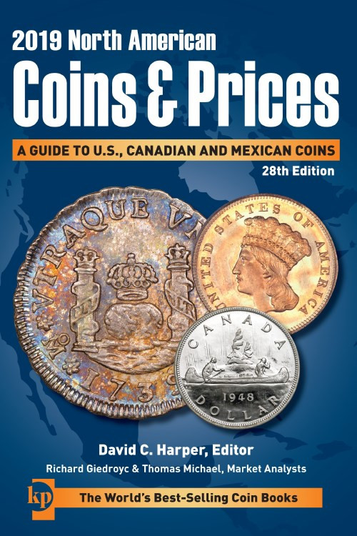 North American Coins Prices 2019