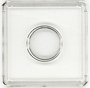 25 Mint Proof Set Clear Snaplock Holders 6 Hole 2x7 For CENT To LARGE DOLLAR