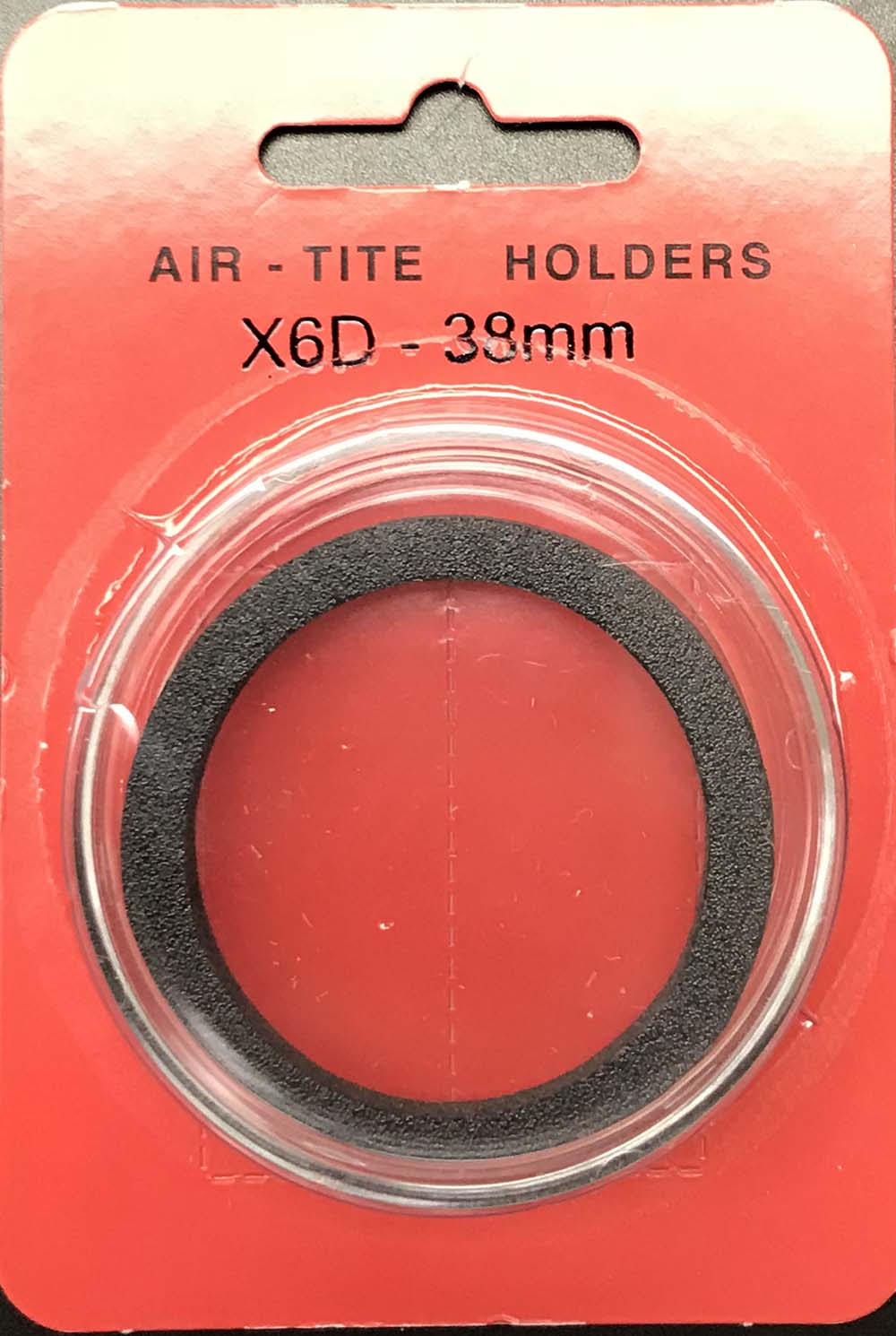 2 LARGE DOLLARS 38mm DIRECT FIT AIR-TITE COIN HOLDERS FITS U.S