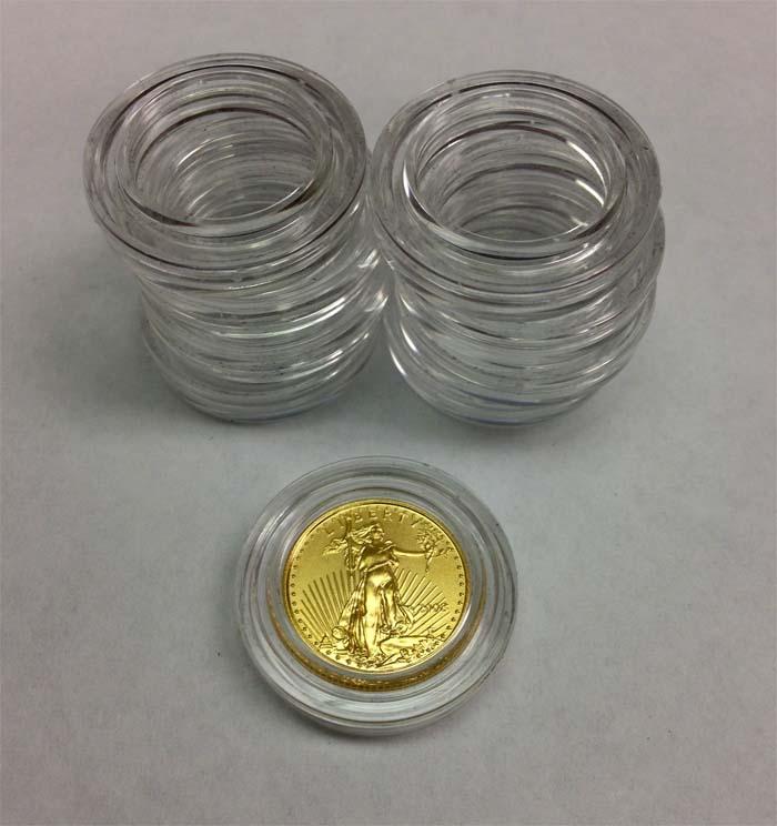 Us Mint Capsule 1 10 Oz Gold Platinum Eagle