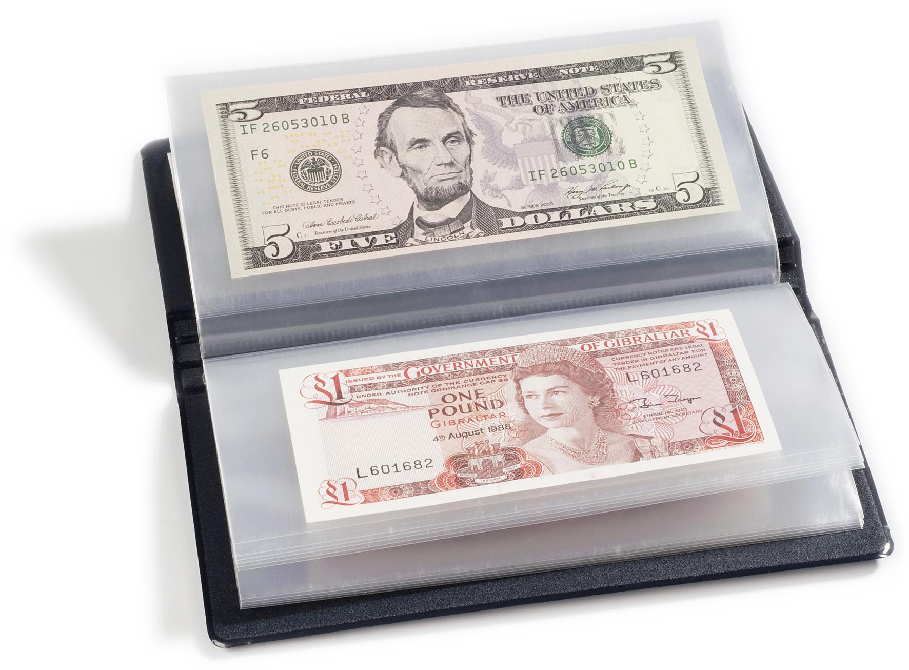 Multi-currency wallet press
