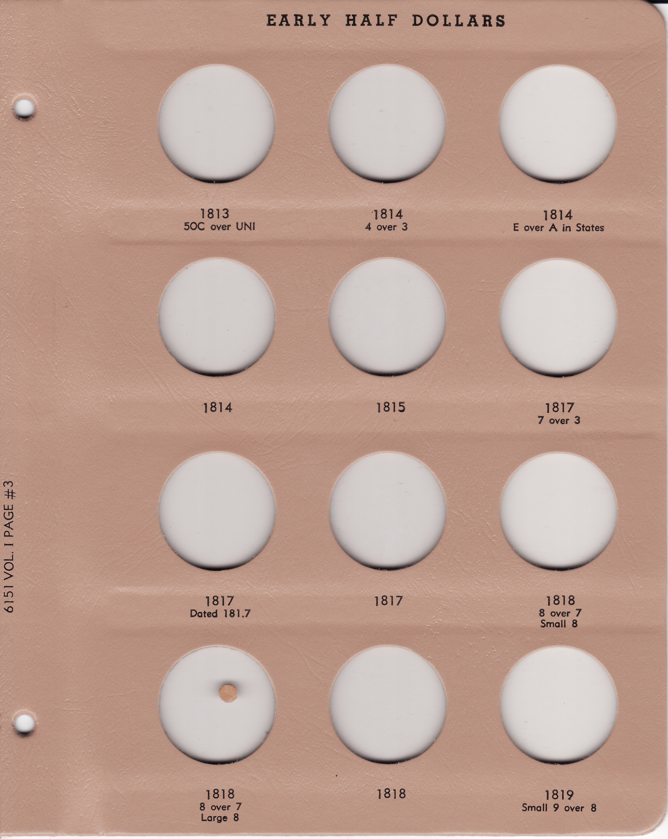 Dansco Replacement Page 7 7100 7102 3 Lincoln Memorial Cents 1989 to 2006 D New