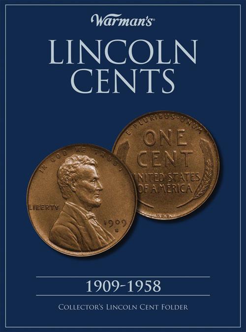 Warman S Folder Lincoln Cents 1909 1958