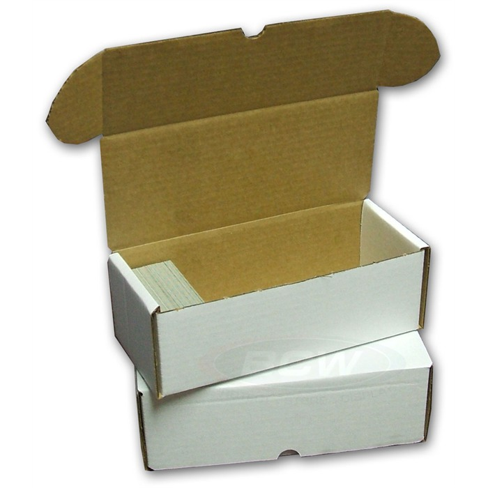bcw trading card slab storage shipping box 500 count