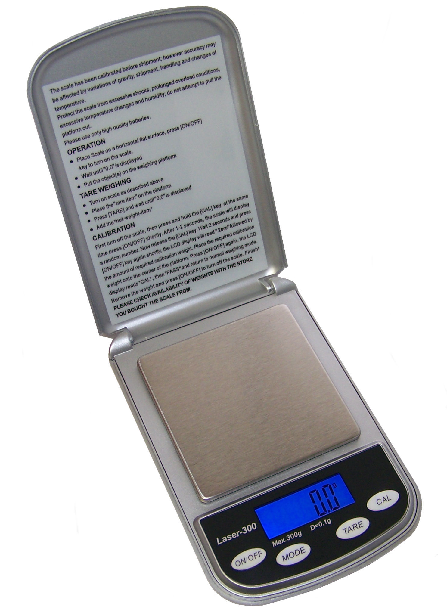 Professional Digital Pocket Scale 300 X 1 G