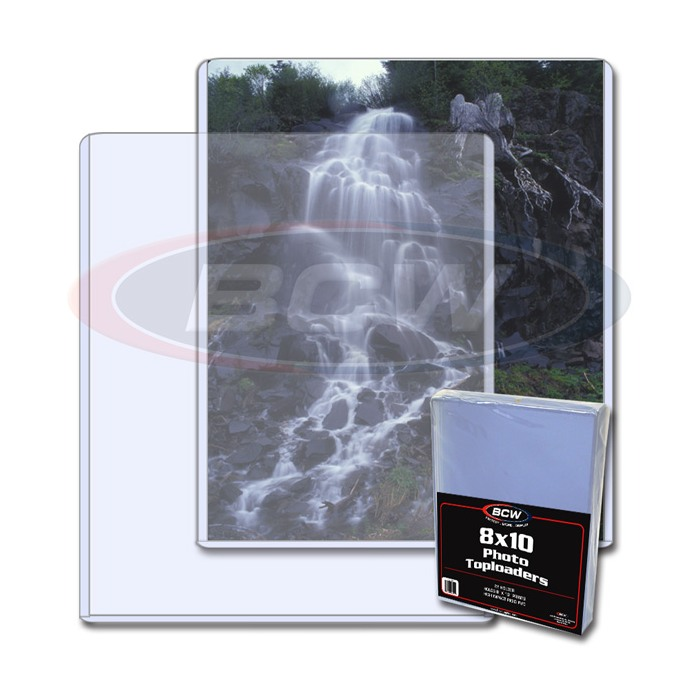 Bcw Topload Holders Photo 8 X 10 Pack Of 25