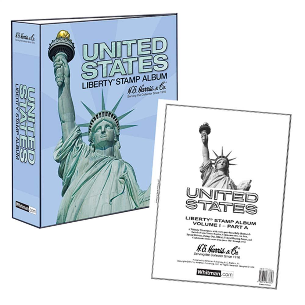HE Harris Stamp Album -- US Liberty I, Part A