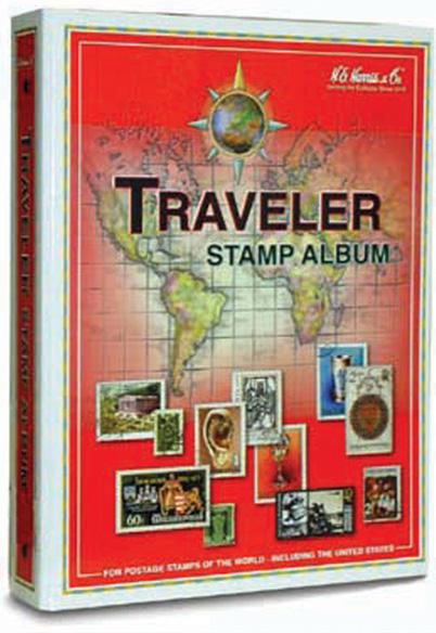 HE Harris Traveler (Intermediate) Worldwide Stamp Album Kit