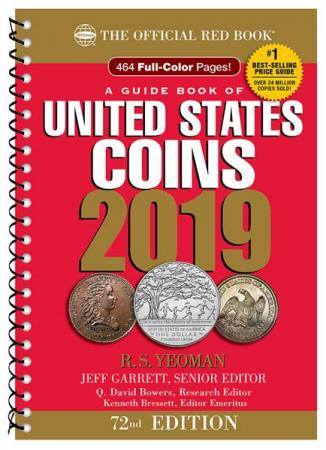 The Official Red Book: A Guide Book of United States Coins 2019