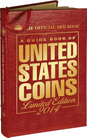 The Official Red Book: A Guide Book of United States Coins 2014 (Leather)