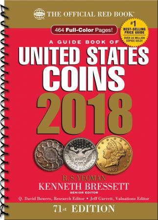The Official Red Book: A Guide Book of United States Coins 2018