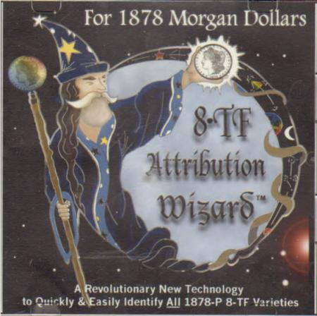 1878 8TF Morgan Dollar Attribution Wizard CD