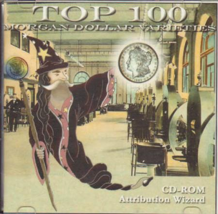 Top 100 Morgan Dollar Varieties Attribution Wizard CD