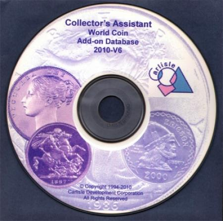 Collector's Assistant -- World Coin Database (add-on)
