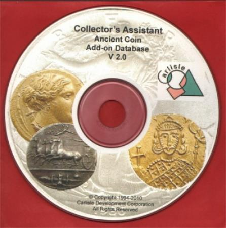 Collector's Assistant -- Ancient Coin Database (add-on)