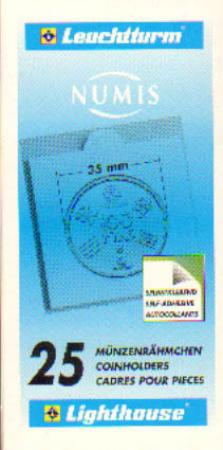 Lighthouse Matrix Self Adhesive 2x2 Holders -- White -- 35mm