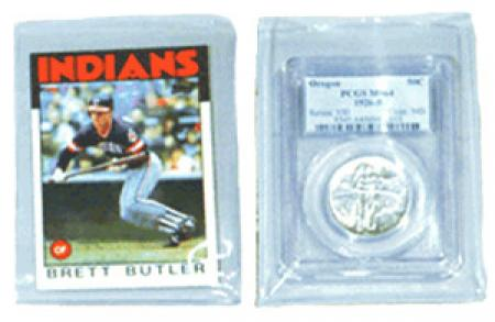 Frame-A-Coin Sports Card Sleeves