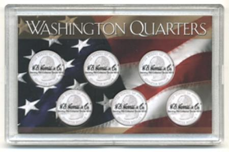 HE Harris State Quarters Frosty Case - Six Hole 3x5