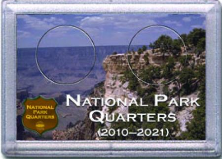 HE Harris National Park Quarters Frosty Case - Canyon - 2-hole, 2x3