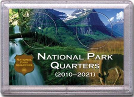 HE Harris National Park Quarters Frosty Case - Meadow/Deer - 2-hole, 2x3