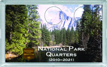 HE Harris National Park Quarters Frosty Case - Mountain - 6-hole, 3x5
