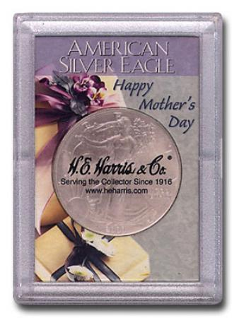 HE Harris ASE Frosty Case - Happy Mother's Day, 2x3