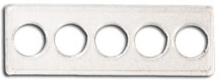 Whitman Nickel Holder - Five Hole, 2x6