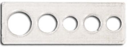 Whitman Mint or Proof Set Holder - Five Hole, 2x6