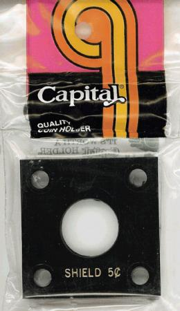 Capital Holder - Shield Nickel, 2x2