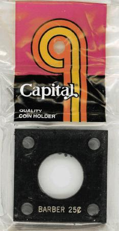Capital Holder - Barber Quarter, 2x2