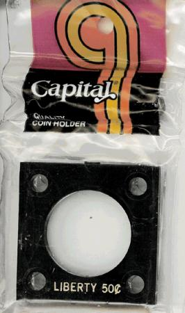 Capital Holder - Liberty Half Dollar, 2x2