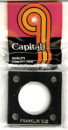 Capital Holder - Franklin Half Dollar, 2x2