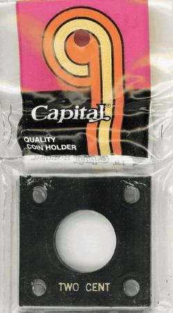 Capital Holder - Two Cent, 2x2