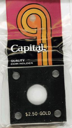 Capital Holder - $2.50 Gold, 2x2
