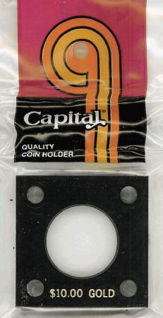 Capital Holder - $10 Gold, 2x2