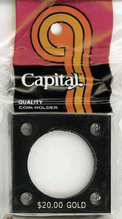 Capital Holder - $20 Gold, 2x2