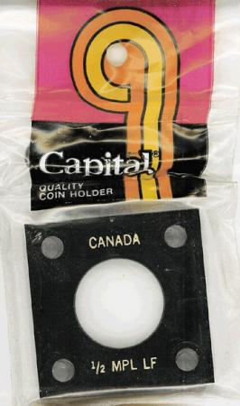 Capital Holder - 1/2 oz. Maple Leaf, 2x2