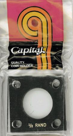 Capital Holder - 1/2 oz. Krugerrand, 2x2