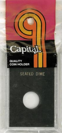 Capital Holder - Seated Dime, 2x3