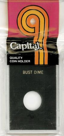 Capital Holder - Bust Dime, 2x3