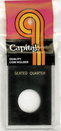 Capital Holder - Seated Quarter, 2x3