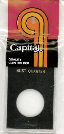 Capital Holder - Bust Quarter, 2x3